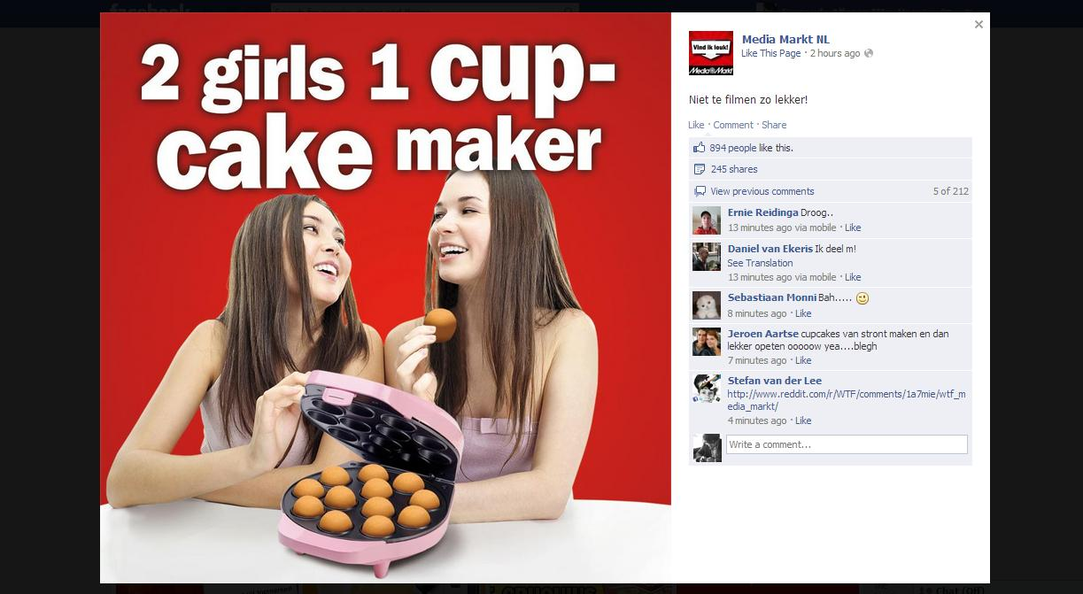 2 Girls 1 Cup Is Coming To Facebook In The Oddest Way