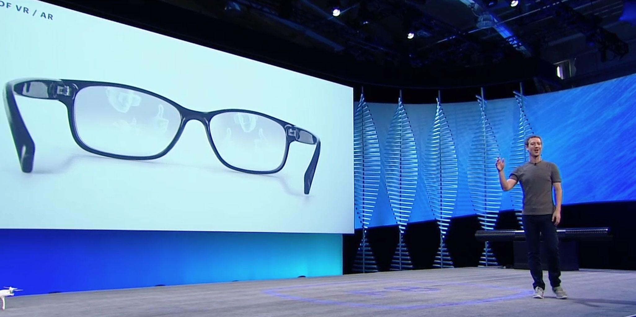 Facebook glasses f8
