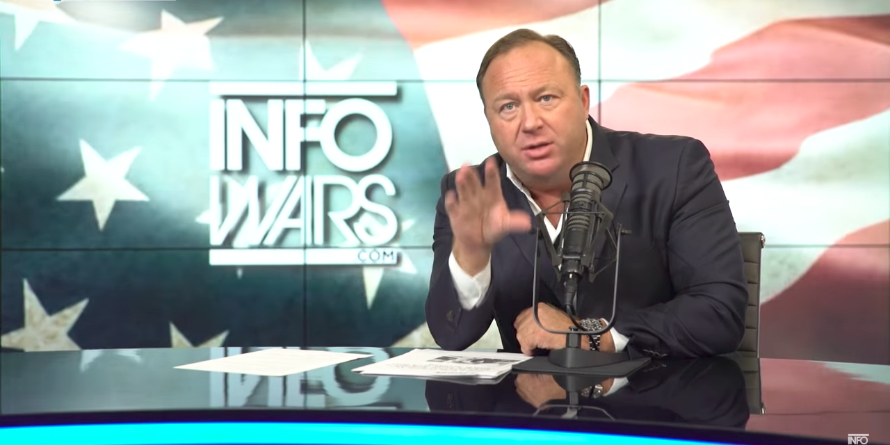 Infowars' Alex Jones