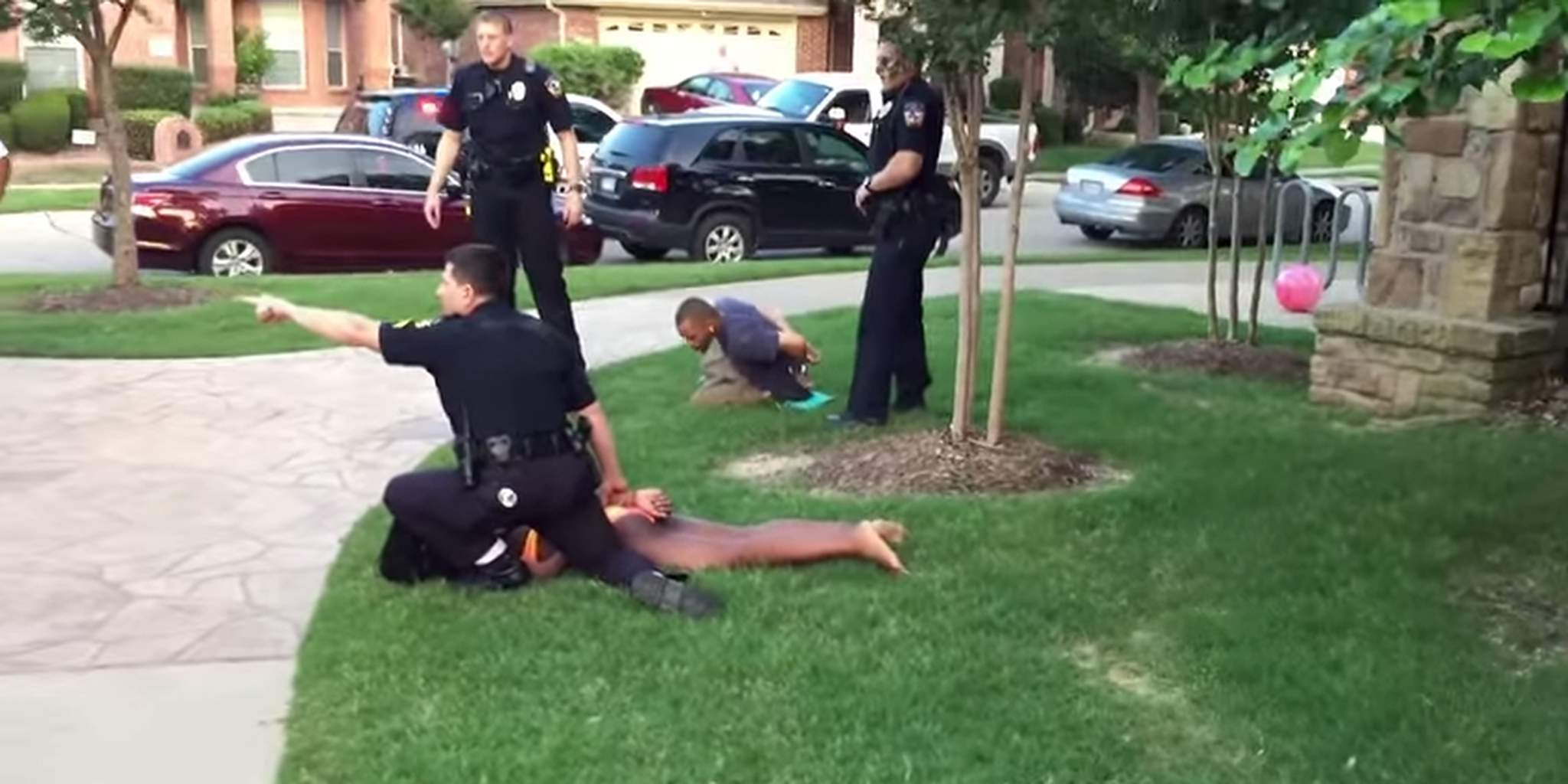 McKinney pool party cops