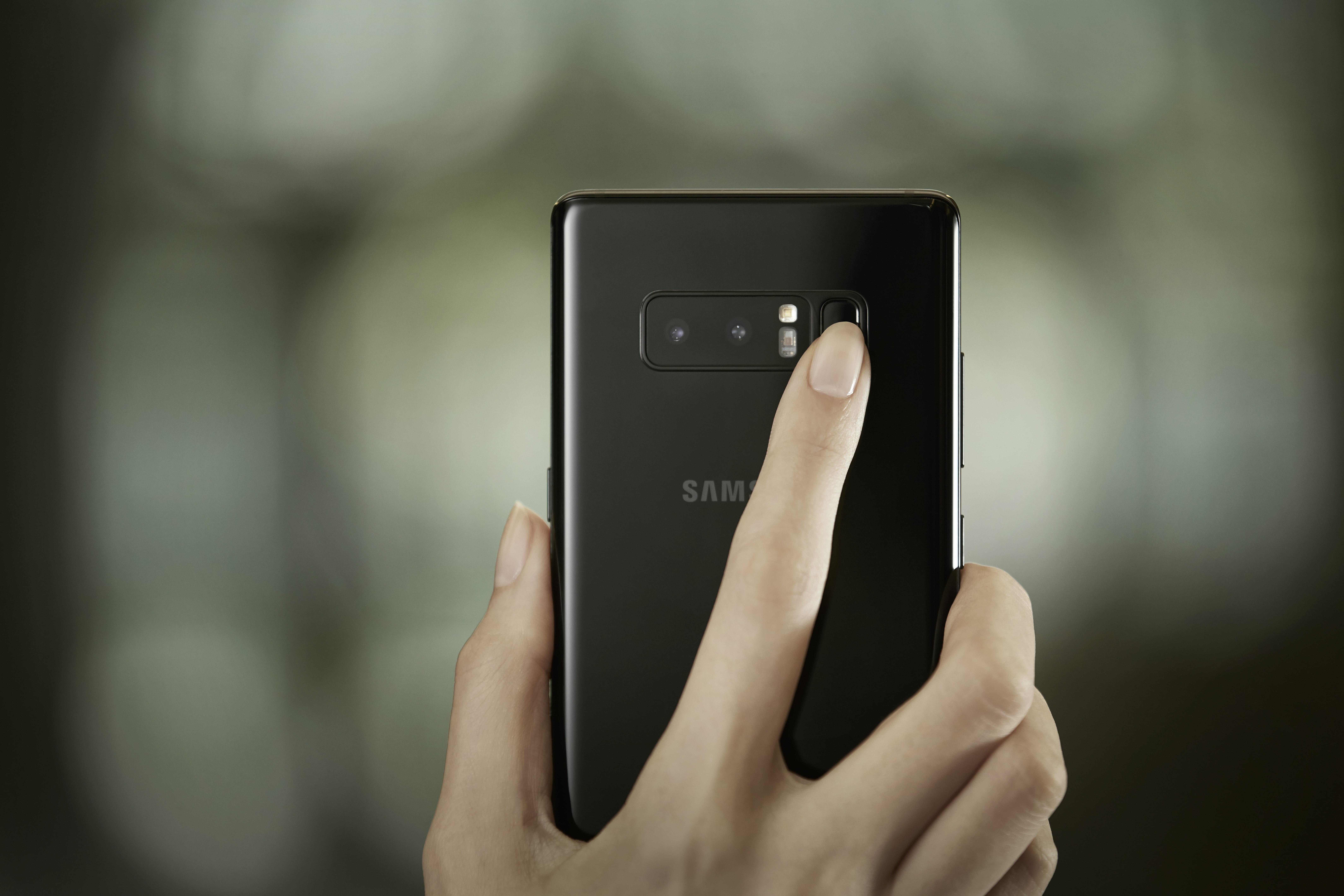 Samsung fingerprint sensor