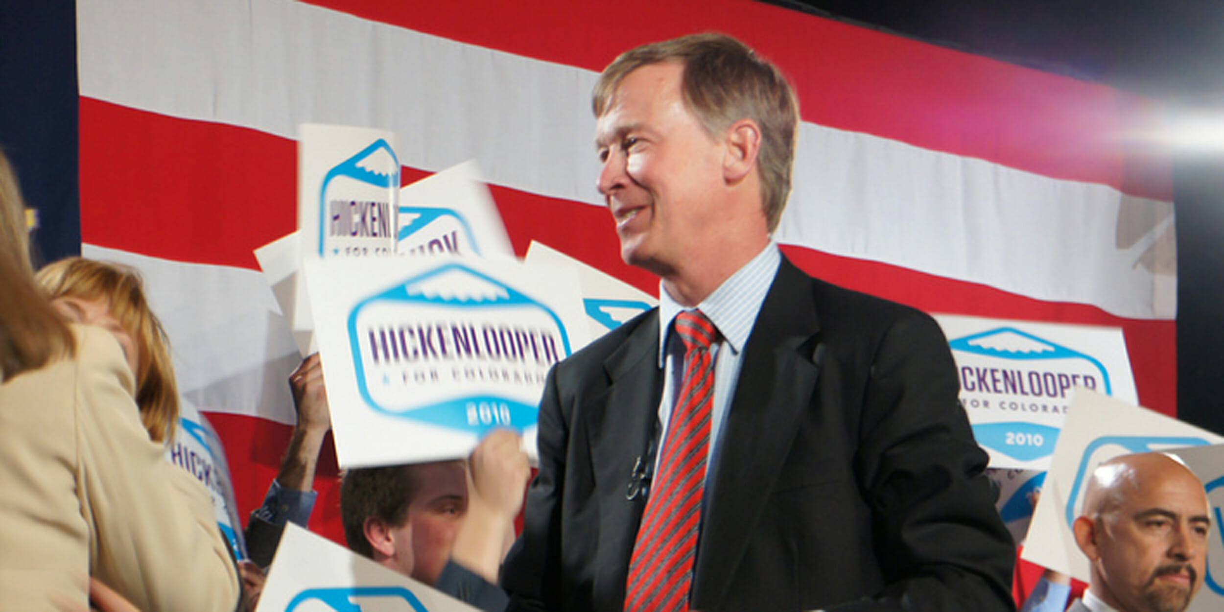 Could John Hickenlooper be a Democratic candidate to face off against Donald Trump in 2020?
