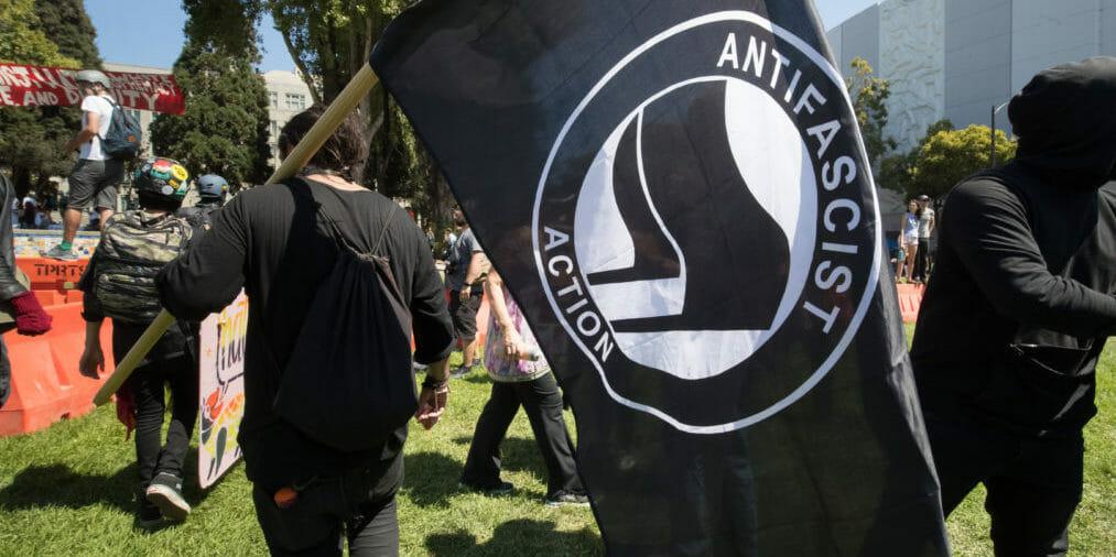 Berkeley Protest on Sunday, Aug. 27, 2017 in Berkeley, Calif..