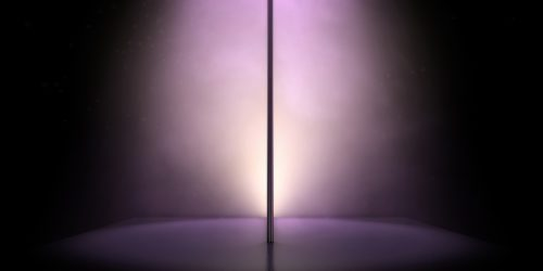 image of a stripper pole