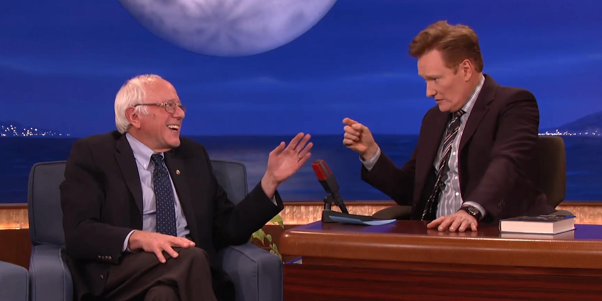Bernie Sanders on Conan O'Brien