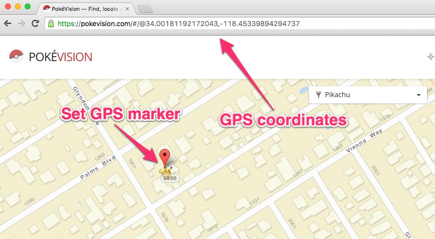 How to Cheat at Pokémon Go with GPS Spoofing and Catch Any