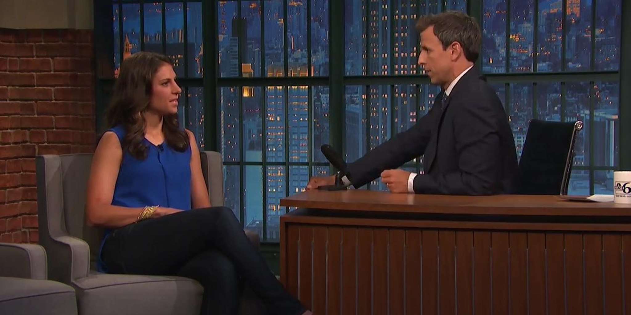 U.S. women's soccer star Carli Lloyd had some choice words about male players 'flopping'