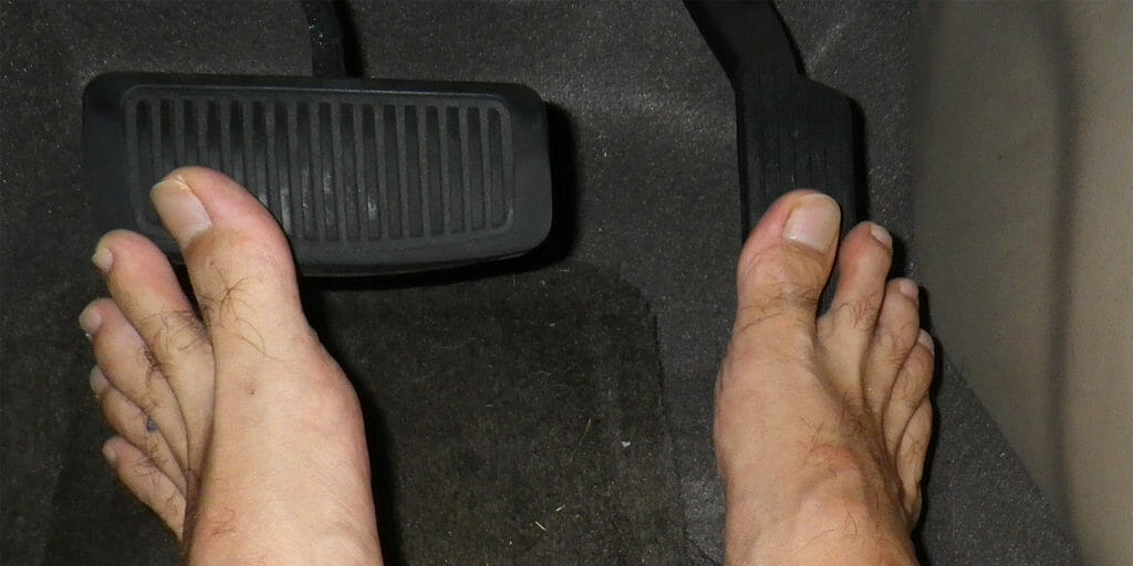 Is It Illegal to Drive Barefoot in Your State? Here's the ...
