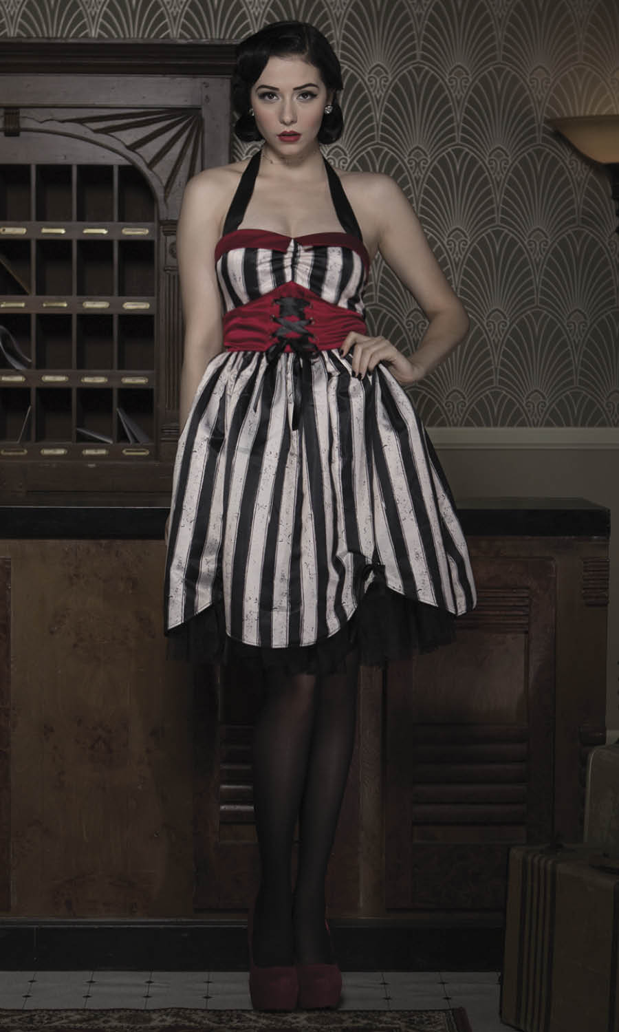 Freak Show Big Top Dress