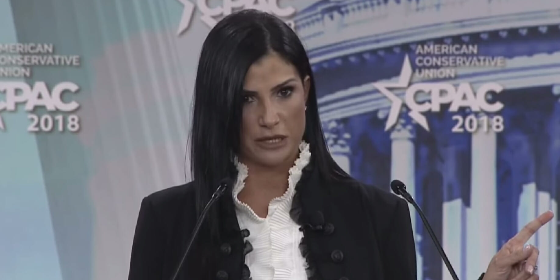 Dana Loesch speaking at CPAC 2018