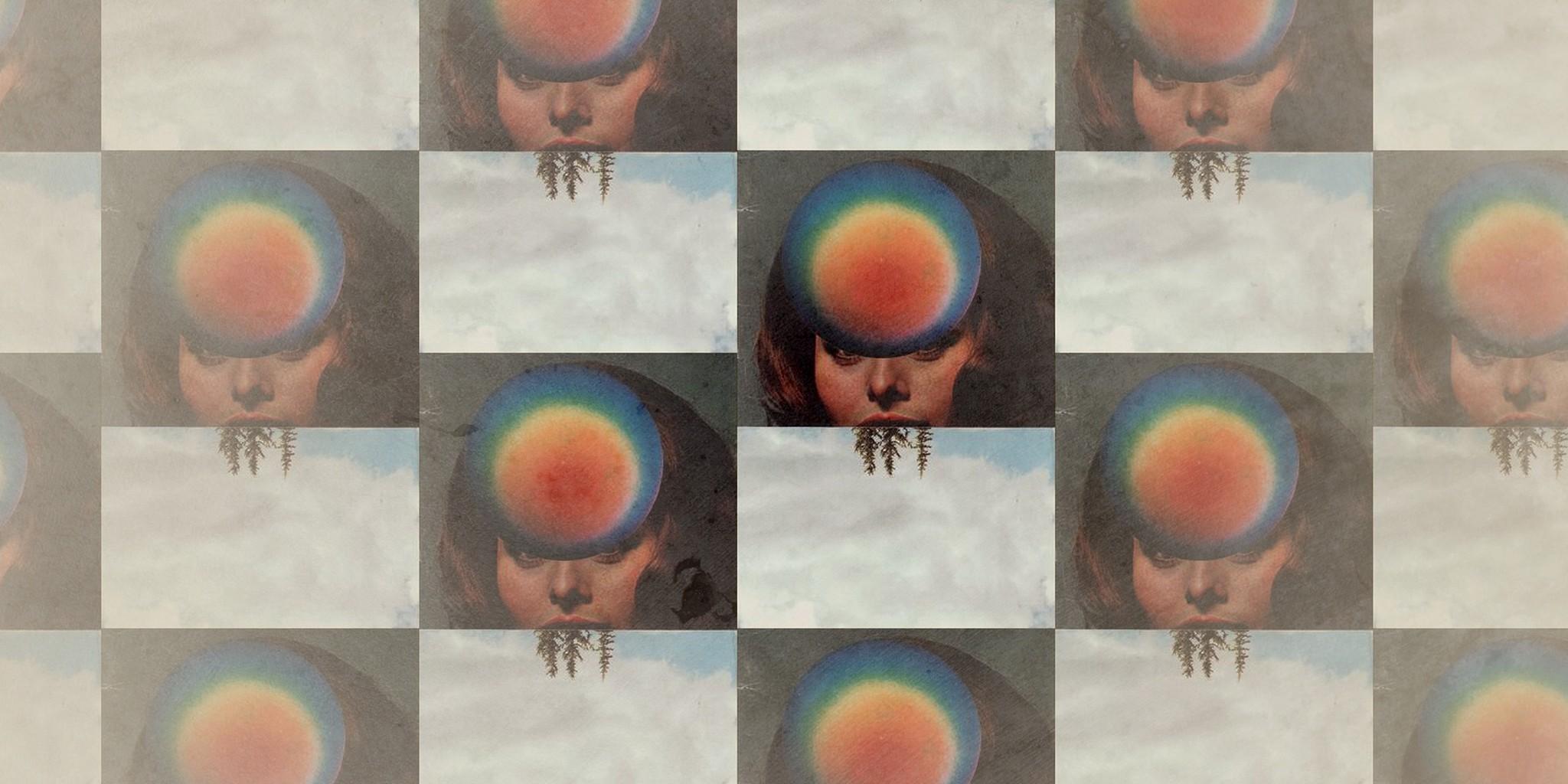collage of brand new's album art