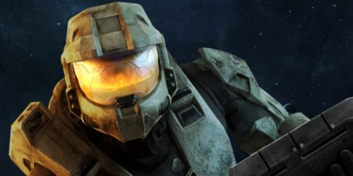A promotional image of Master Chief from Halo 3.