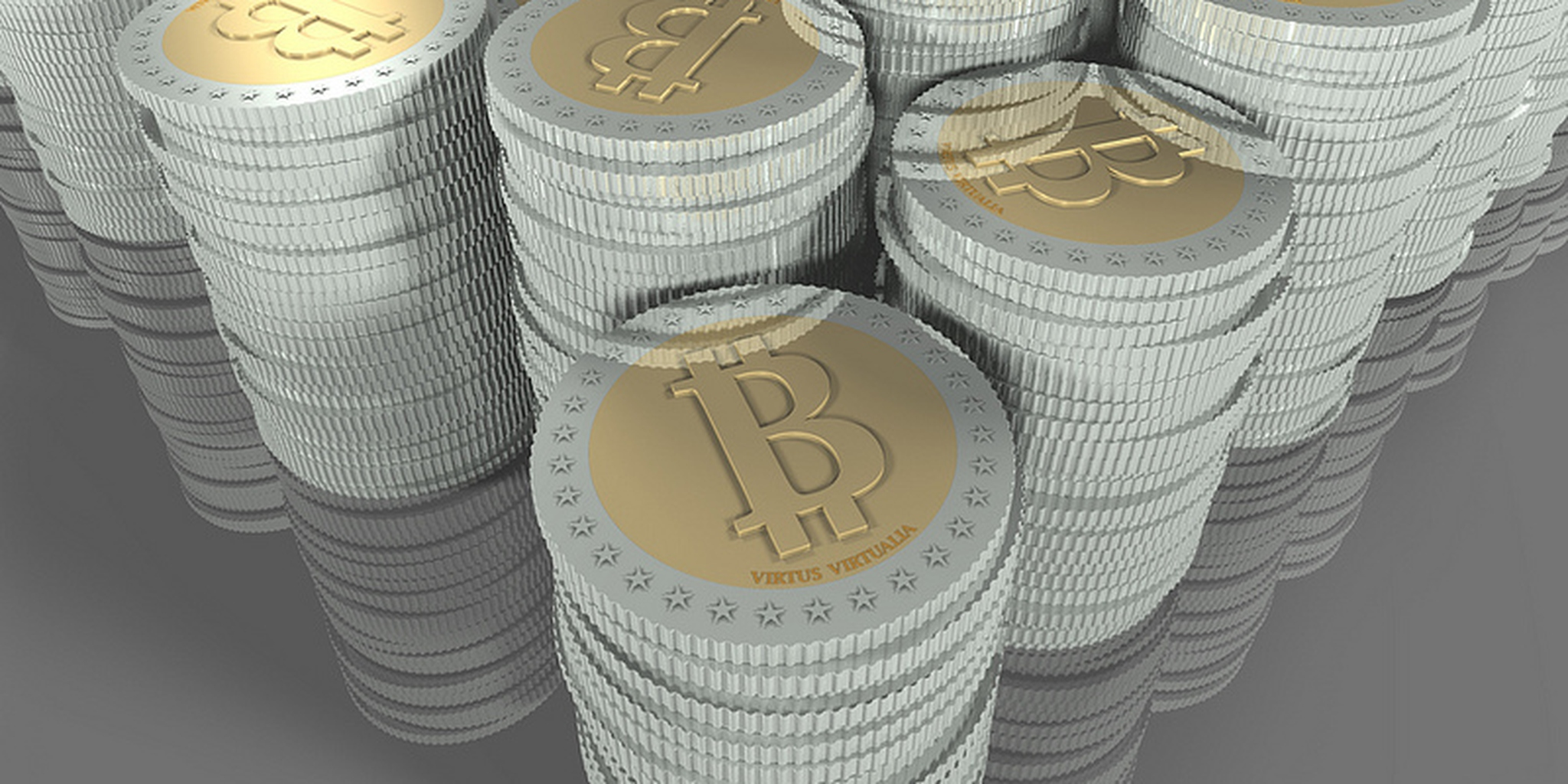 All sizes   bitcoins piles   Flickr - Photo Sharing!